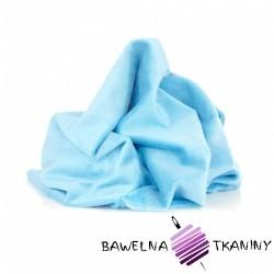 Minky gładki Premium Lazur (Bachelory Button)
