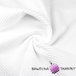 Wafel bawełniany biały