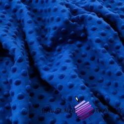 Minky Premium granatowo niebieski (Midnight)