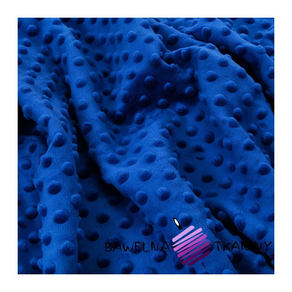 Minky Premium navy blue (Midnight)