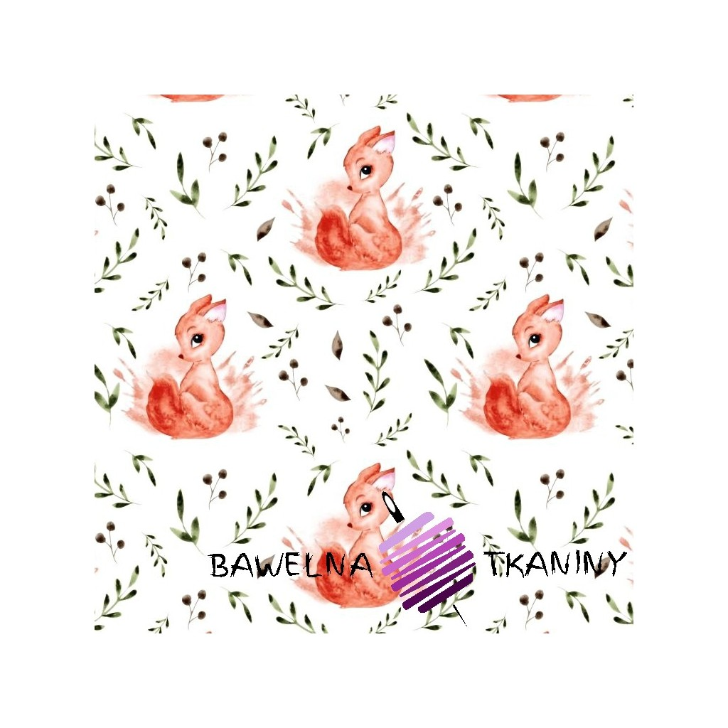 NEW DESIGN ROSES TWIG MINT GREY ON WHITE FLORAL 100/% COTTON FABRIC