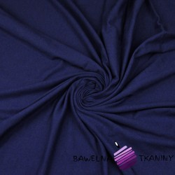 Cotton Jersey - navy blue