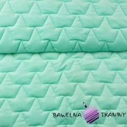 velvet mint quilted in crowns