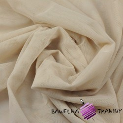 Decorative tulle soft - beige