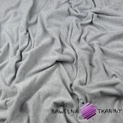 Looped knit - plain gray light melange