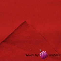 Dresówka pętelka - czerwony