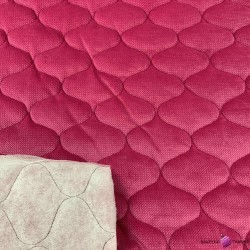 velvet pink quilted in tops