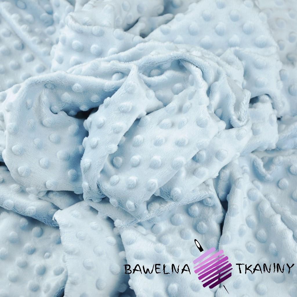 Minky Premium jasny błękit (Baby Blue)