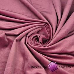 Velvet gładki brudny róż 25