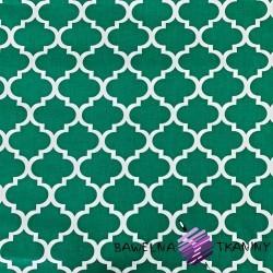 Bawełna Maroko duże zielone
