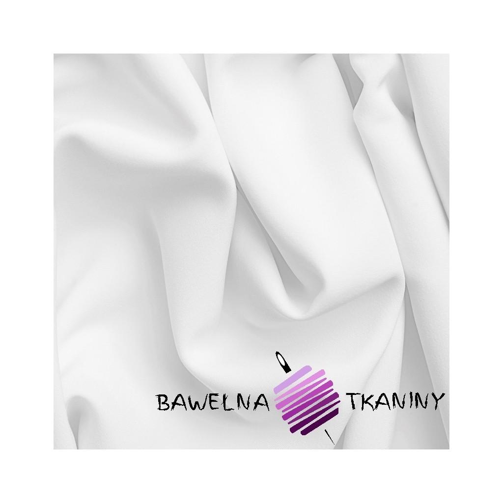 Bawełna gładka gruba biała - Noris - 240cm - belka 60m