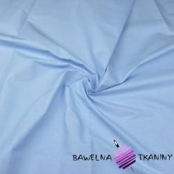 Bawełna gładka niebieska 220cm