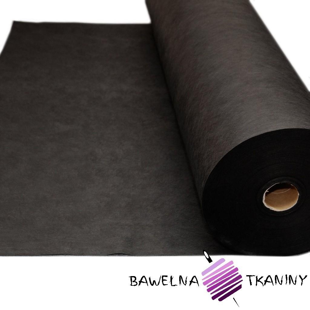Flizelina medyczna czarna 50 g/m2
