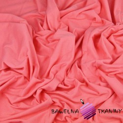 Cotton Jersey - coral