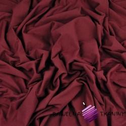 Cotton Jersey - burgundy