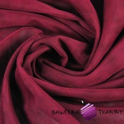 Decorative tulle soft - burgundy
