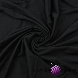 Cotton Jersey with Silver ions - black