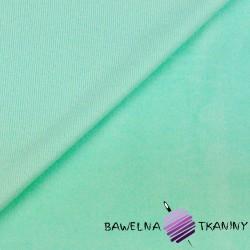 Welur bawełniany odzieżowy - miętowy