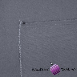 Drill fabric dark gray