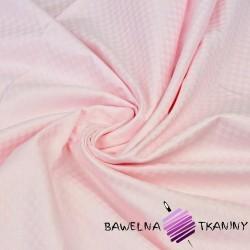 Light pink cotton damask squares