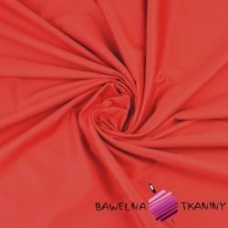 Satyna bawełniana czerwona - 220cm