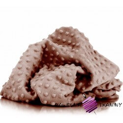 Minky Premium kawowy (Mocha Mousse)
