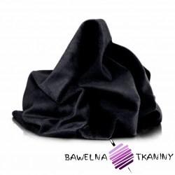 Minky gładki Premium czarny (Black)