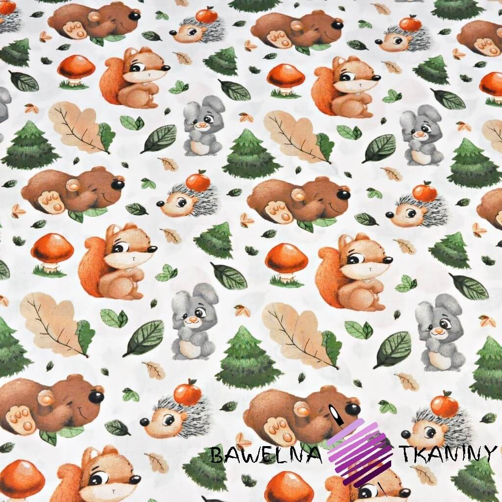Cotton Fabric Animals In Wheels Green Background Fabric Store