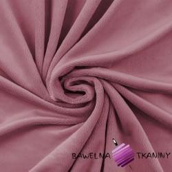 Minky gładki Premium brudny róż (Foxglove)