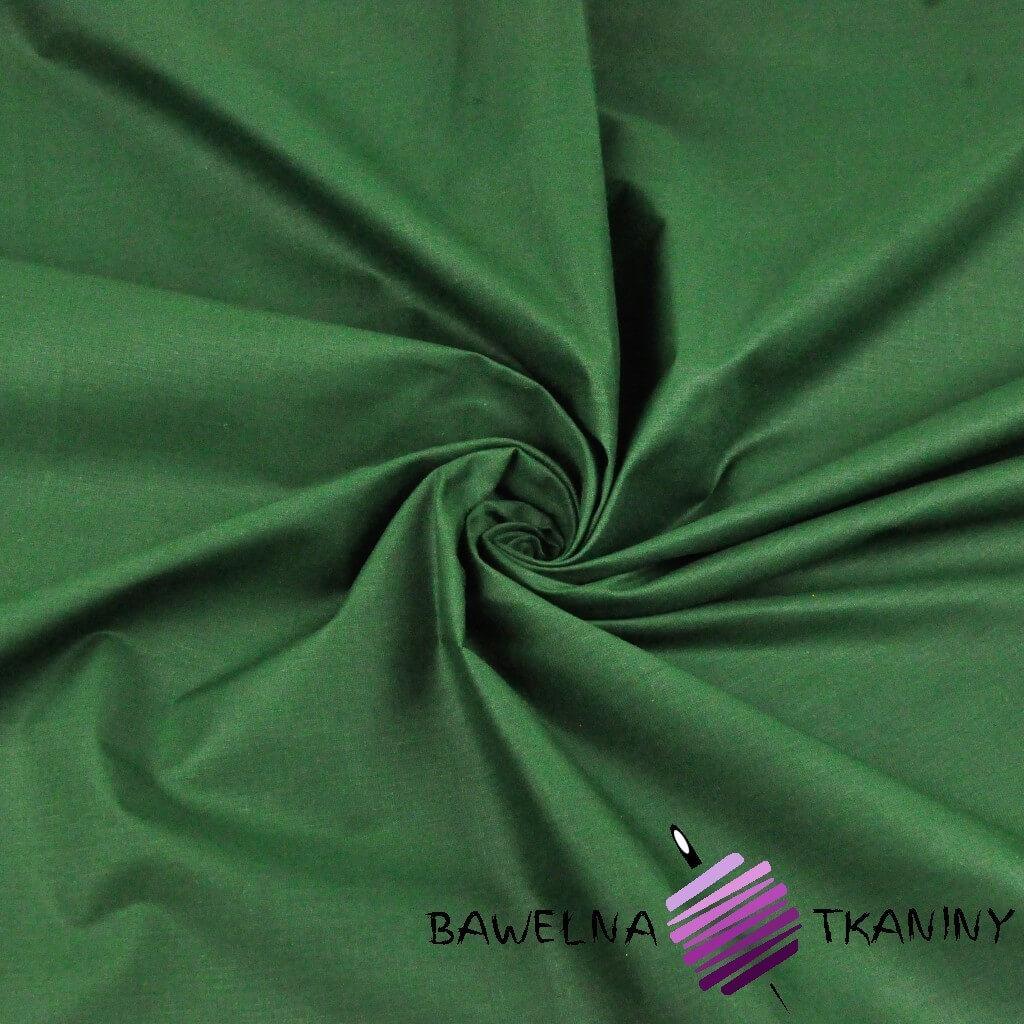 gładka ciemno zielona