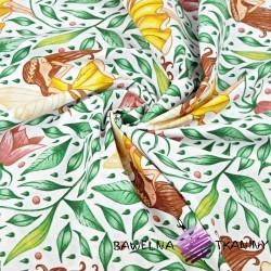 Wróżki Calineczki na białym tle