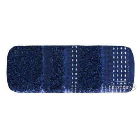 Elegancki, chabrowy ręcznik z wysokiej jakości bawełny.