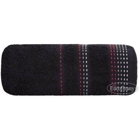 Ręcznik eleganckiej czerni