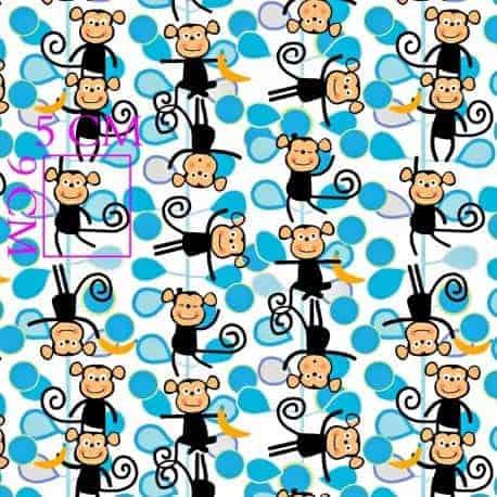 bawełna małpki