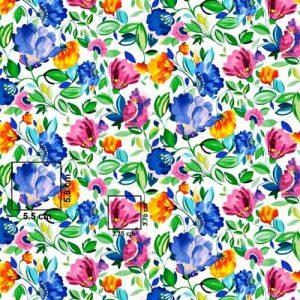 bawełna tulipany