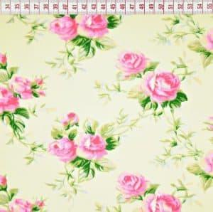 bawełna różyczki