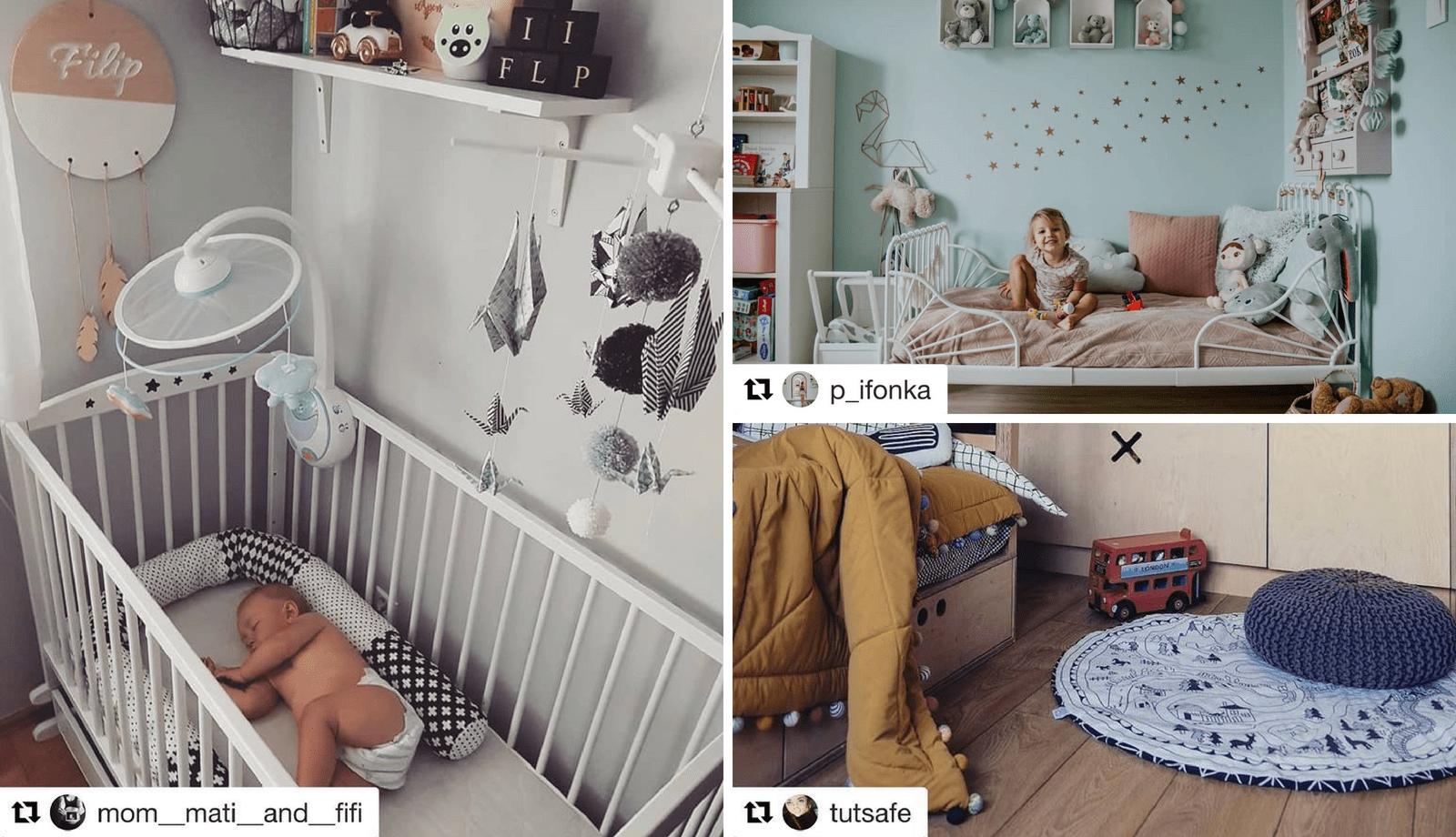 Urządzamy pokój dziecka! (cz.3/4) - 12 inspirujących kont Instagramowych!