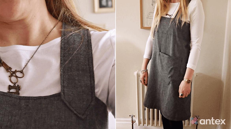 DIY prezent na Dzień Matki: fartuch w stylu japońskim dla Mamy!