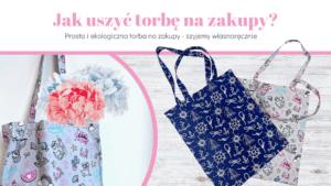Ekologiczna torba na zakupy DIY